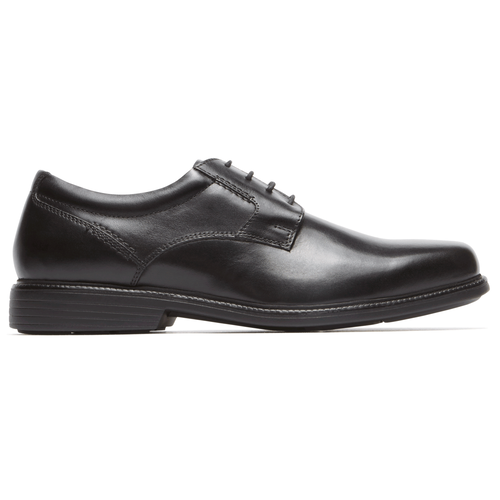 Charles Road Plaintoe Oxford in Black