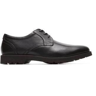Classic Zone Plaintoe Oxford in Black