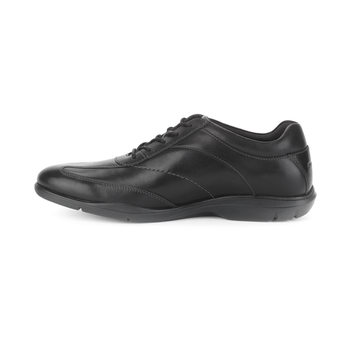 Style Side T-Toe Men's Walking Shoes in Black