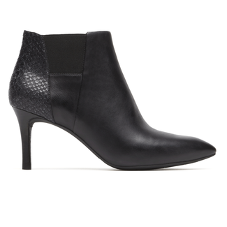 Total Motion Layer Bootie, BLK BURN CALF/SNK