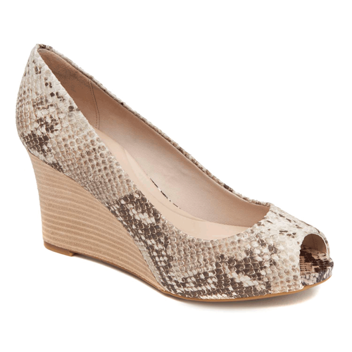 Seven to 7 Peep Toe Wedge Women's Wedges in Exotic