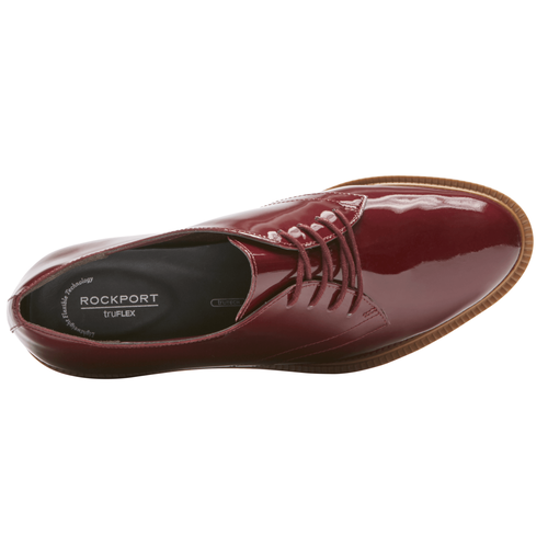 Total Motion Abelle Lace Up, MERLOT PEARL PATENT