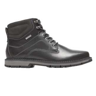 Centry Plain Toe Boot, BLACK