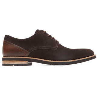 Ledge Hill 2 Plain Toe Blucher in Brown