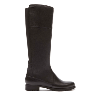 Rockport Women's Black Tristina Stitch Tall Boot