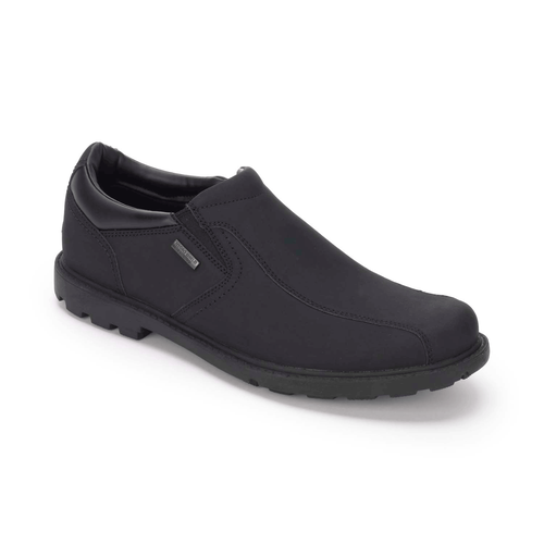 Rugged Bucks Waterproof Slip On in Black
