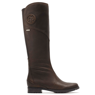 Tristina Gore Tall Boot Women's Boots in Brown