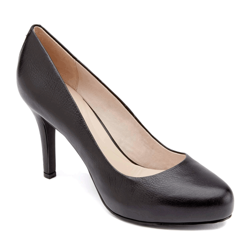 Seven to 7 High Plain Pump Women's Heels in Black