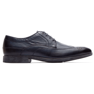 Style Connected Wingtip in Navy