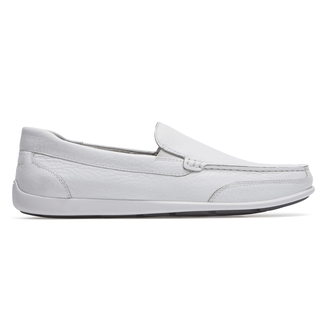 Bennett Lane IIII Venetian Slip-On Comfortable Men's Shoes in White