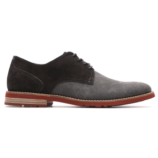Ledge Hill 2 Plain Toe OxfordRockport Men's Dark Brown Ledge Hill 2 Plain Toe Oxford
