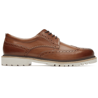 Marshall Wingtip Comfortable Men's Shoes in Brown