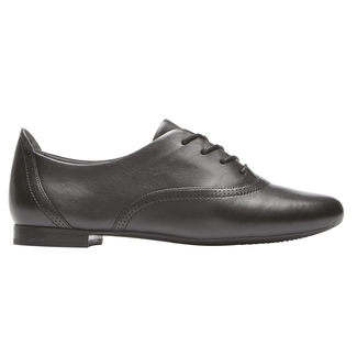 Total Motion Tavia Lace Up, BLACK LEATHER