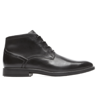 DresSports Modern Chukka, BLACK LEATHER