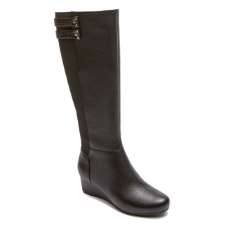 Total Motion Gore Tall Boot - Women's Black Boots