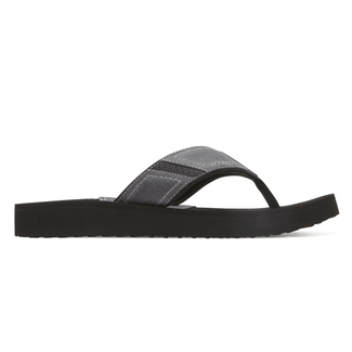Carter Flip Flop Extended Size Men's Shoes in Grey