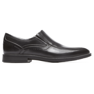 DresSports Modern Bike Toe Slip-On, BLACK LEATHER