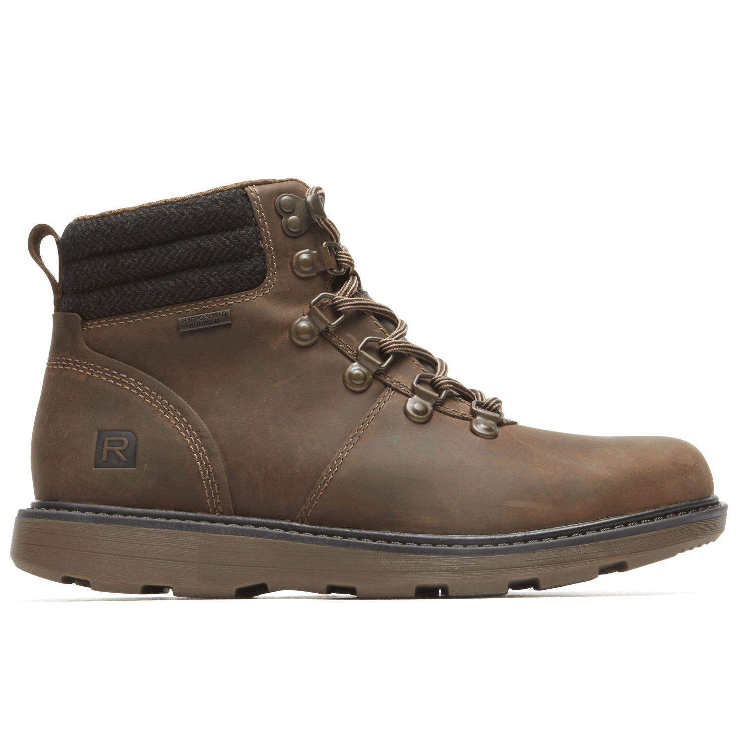 Boat Builders D Ring Plaintoe Boot In Brown
