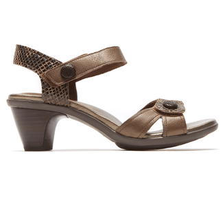 Medici Mila Adjustable Sandal in Brown