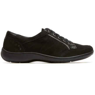 Bromly Oxford Extended Size Women's Shoes in Black