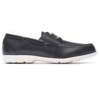 Rockport Men's Navy Summer Sea 2-Eye Boat Shoe