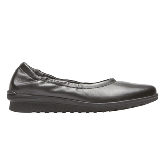 truFLEX Chenole Ballet, BLACK LEATHER