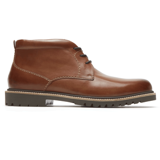 Marshall Chukka Comfortable Men's Shoes in Brown