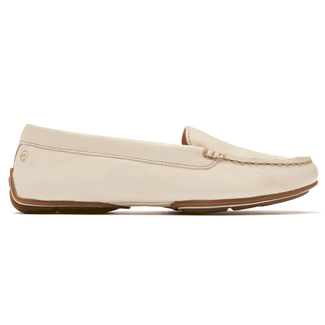 Shore Bets II Seaworthy Moc Women's Shoes in White