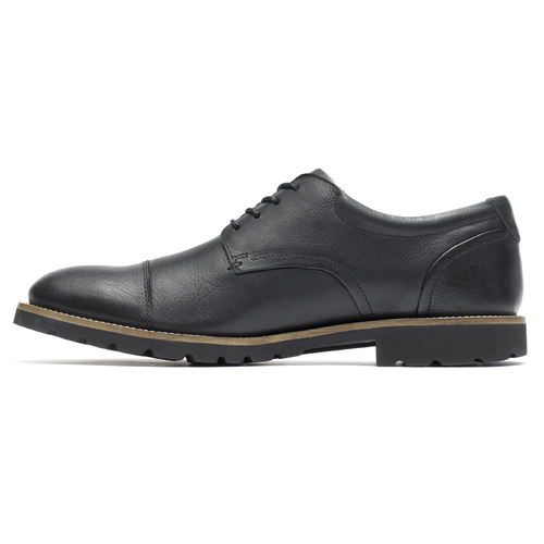 Marshall Captoe Oxford, BLACK