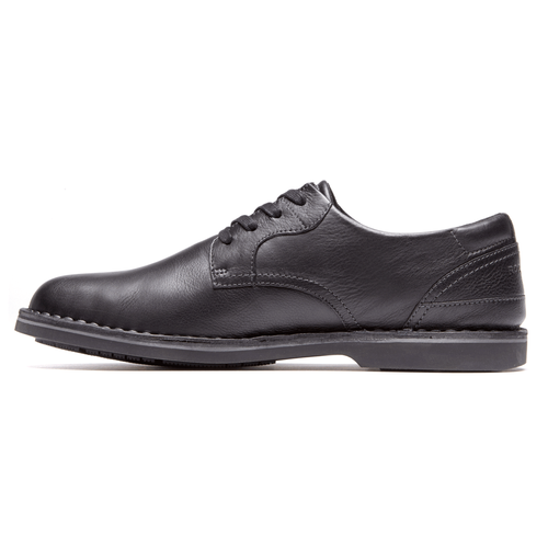 Urban Ease Plain Toe Men's Oxfords in Black