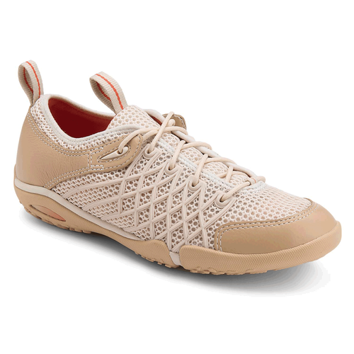 Famke Injection Wave Lace Up  Women's Casual Shoes in Grey