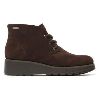 Winter St. Desert Bootie - Women's Dark Brown Boots
