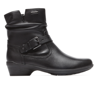 Riley Waterproof Mid Boot Cobb Hill by Rockport in Black