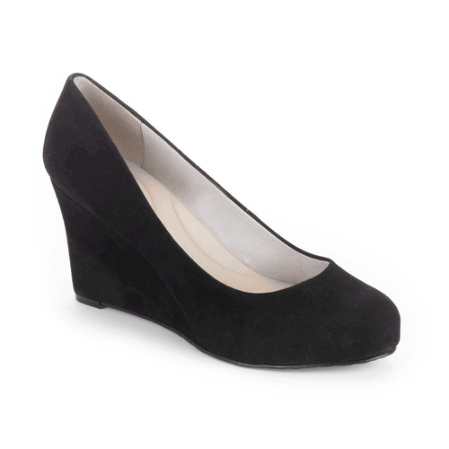 Seven to 7 Wedge Women's Heels in Black