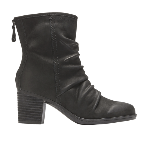 Cobb Hill Natashya Mid Boot, BLACK NBK