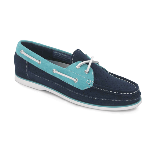 Bonnie Perf Boat Shoe Women's Boat Shoes in Navy
