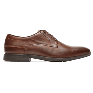 Style Connected Plain Toe in Brown