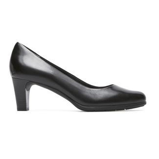Total Motion Melora Plain PumpRockport Women's Black Total Motion Melora Plain Pump