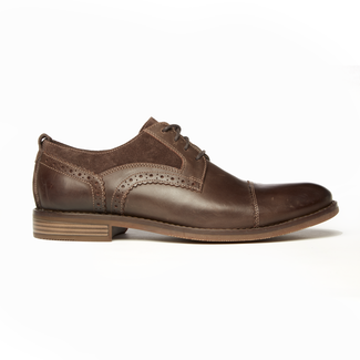 Wynston Cap Toe Bal, DARK BITTER CHOCOLATE
