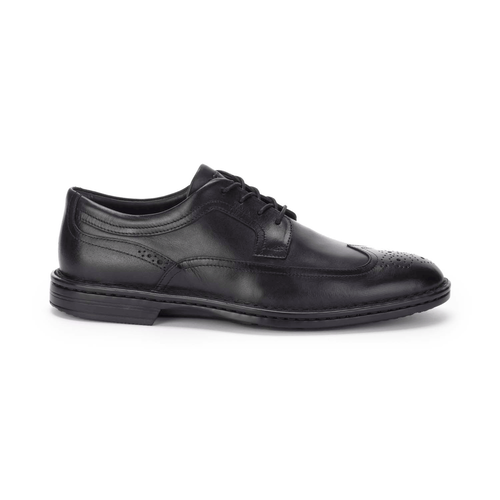 RocSports Lite Business Wingtip Men's Dress Casual Shoes in Black