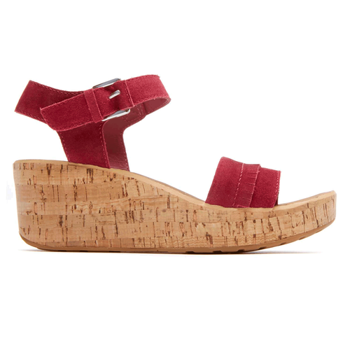 Weekend Casuals Lanea Quarter Strap in Red