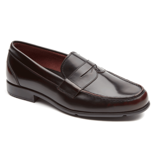 Classic Loafer Penny, BURG BRUSH OFF