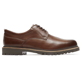 Marshall Plaintoe Oxford Comfortable Men's Shoes in Brown
