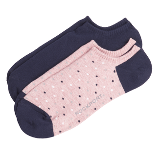 Women's No Show Athletic Socks, PINK MULTI