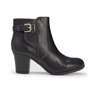 City Casuals Catrina Bootie, MAIN BLACK LTHR