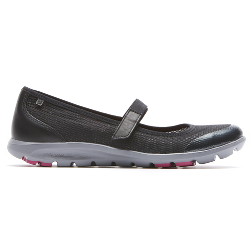 truWALKzero II Mesh Mary Jane Women's Walking Shoes in Black