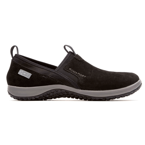 WALK360 Perf Slip On Women's Casual Shoes in Black