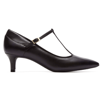 Total MotionKalila T-Strap Pump in Black