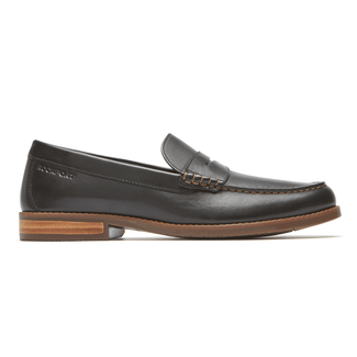 Cayleb Penny Loafer , BLACK LE