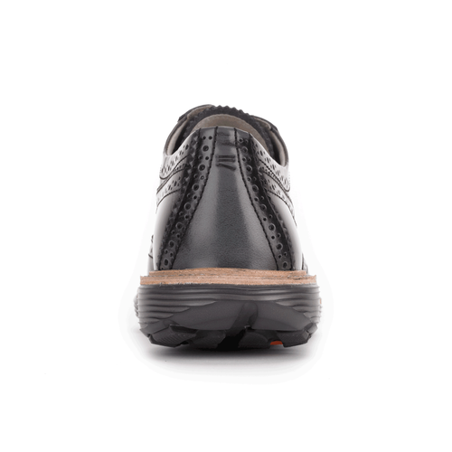 truWALKzero Welt Oxford, Women's Black Walking Shoes